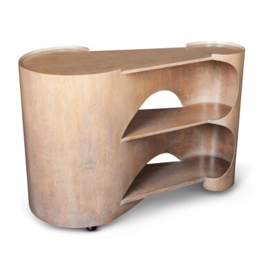 View 5. Thumbnail of Lot 92. Gerald Summers, 1899-1967   Isokon Trolley.