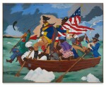 George Washington Carver Crossing the Delaware: Page from an American History Textbook