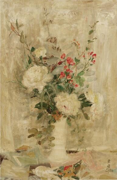 View 1. Thumbnail of Lot 254. LE PHO 黎譜  FLEURS (FLOWERS) 花卉.