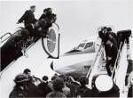 TERRY O'NEILL, The Beatles Leaving London, Heathrow Airport, February, 1964