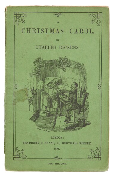 Dickens, Three Christmas Books, 1858, cheap and uniform editions