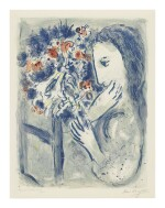 MARC CHAGALL | WOMAN BY A WINDOW (M. 420)