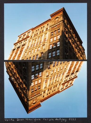 View 1. Thumbnail of Lot 214. Upside Down New York.
