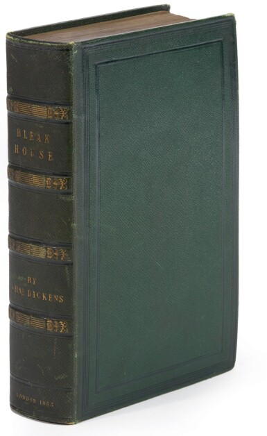 Dickens, Bleak House, 1853, first edition in book form, possible special publisher's binding