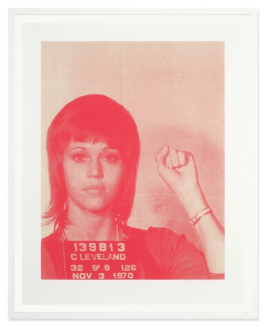 View 2. Thumbnail of Lot 11. RUSSELL YOUNG | JANE FONDA (FROM PIG PORTRAITS).