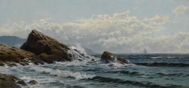 ALFRED THOMPSON BRICHER | CRASHING WAVES