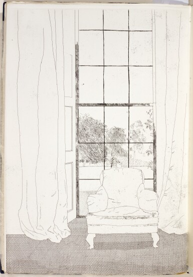 DAVID HOCKNEY   ILLUSTRATIONS FOR SIX FAIRY TALES FROM THE BROTHERS GRIMM (S.A.C. 70-108; MCA TOKYO 67-105)