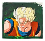 DRAGON BALL Z BY TOEI ANIMATION 龍珠Z by東映動畫 | SUPER SAIYAN GOKU ANIMATION CEL 超級賽亜人悟空動畫手稿
