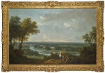 FRANCESCO ZUCCARELLI, R.A. | A VIEW OF THE RIVER THAMES FROM RICHMOND HILL