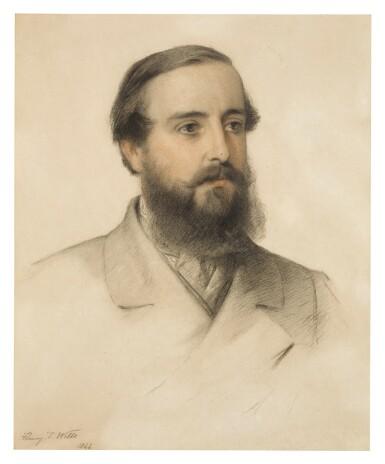 View 2. Thumbnail of Lot 54. Portrait of James Stewart Hodgson; Portrait of Gertrude Agatha Stewart Hodgson.