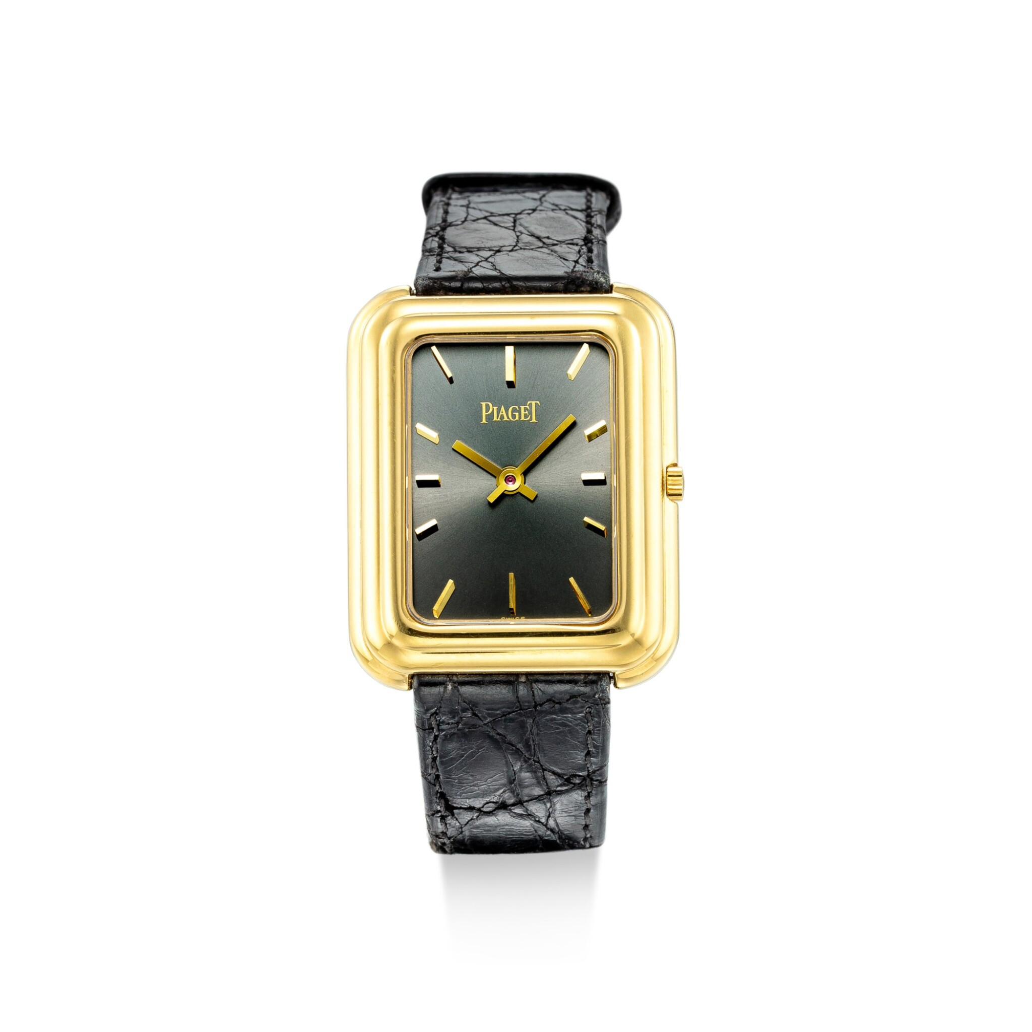 View full screen - View 1 of Lot 1105. PIAGET   REFERENCE 4101, A YELLOW GOLD WRISTWATCH WITH BETA 21 MOVEMENT, CIRCA 1970.