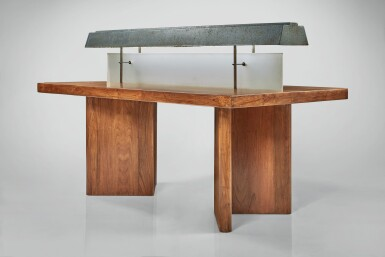 View 2. Thumbnail of Lot 358. Reading Table with Light, Model No. PJ-TAT-10-A.
