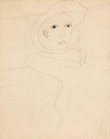 BEN NICHOLSON, O.M.  |  1933 (GIRL IN A MIRROR)
