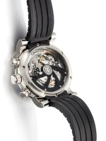 GRAHAM | TRACKMASTER, REFERENCE 2TWTS.B05A, A LIMITED EDITION STAINLESS STEEL TOURBILLON CHRONOGRAPH WRISTWATCH, CIRCA 2010