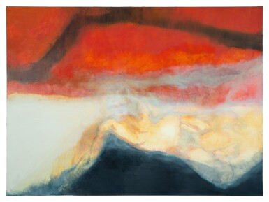 View 1. Thumbnail of Lot 744. HUGHIE O'DONOGHUE | VULCANO.