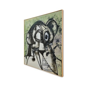 View 4. Thumbnail of Lot 1130. George Condo 喬治・康多   Whistler's Father 惠斯勒的父親.