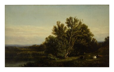 ELIZA GREATOREX | LANDSCAPE NEAR CRAGSMOOR, NEW YORK