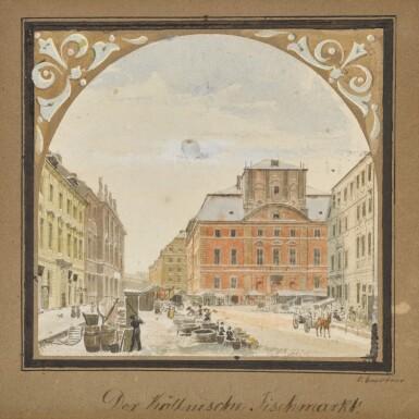 View 1. Thumbnail of Lot 68. Der Köllnische Fischmarkt (The Kölln Fish Market).