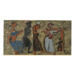 MAQBOOL FIDA HUSAIN |  TO THE MARKET