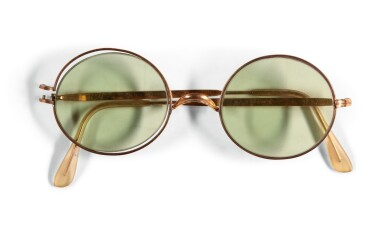 View 1. Thumbnail of Lot 14. JOHN LENNON | Sunglasses, c. 1968.