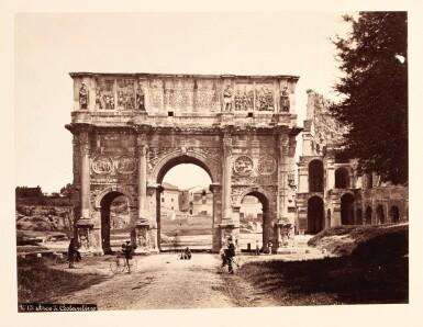View 3. Thumbnail of Lot 96. Rome   Marion & Co., album of 78 photographs, [c.1870s-1880s].