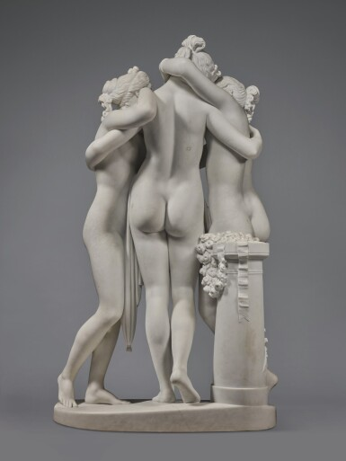 View 4. Thumbnail of Lot 218. The Three Graces.