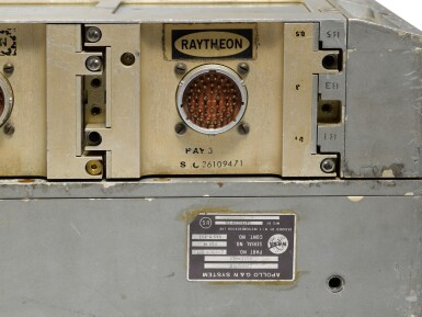 View 5. Thumbnail of Lot 44. Apollo Guidance Computer.