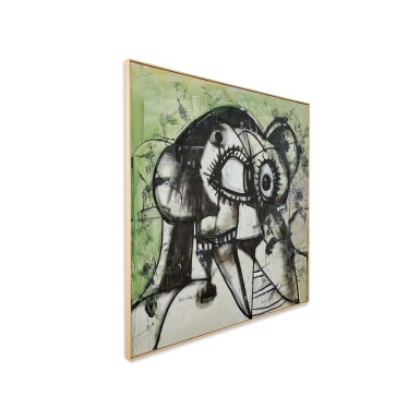 View 3. Thumbnail of Lot 1130. George Condo 喬治・康多   Whistler's Father 惠斯勒的父親.