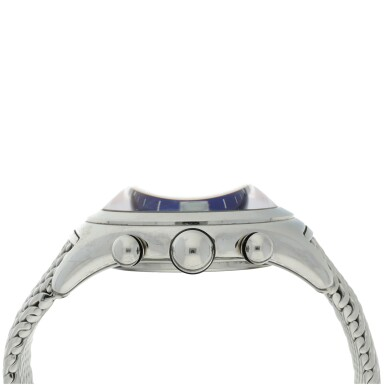 View 4. Thumbnail of Lot 222. REFERENCE 396.150.20 BUBBLE A STAINLESS STEEL CHRONOGRAPH WRISTWATCH, CIRCA 2000.