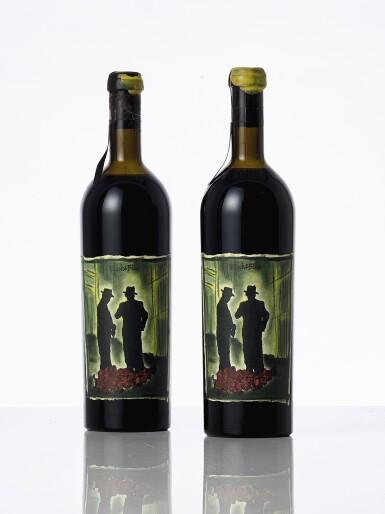 View 1. Thumbnail of Lot 6820. Manfred Krankl & Havens Wine Cellars, Black & Blue 1992 (2 BT).