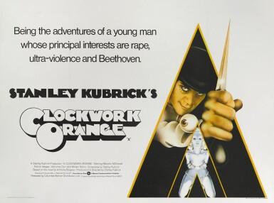 A CLOCKWORK ORANGE (1971) POSTER, BRITISH