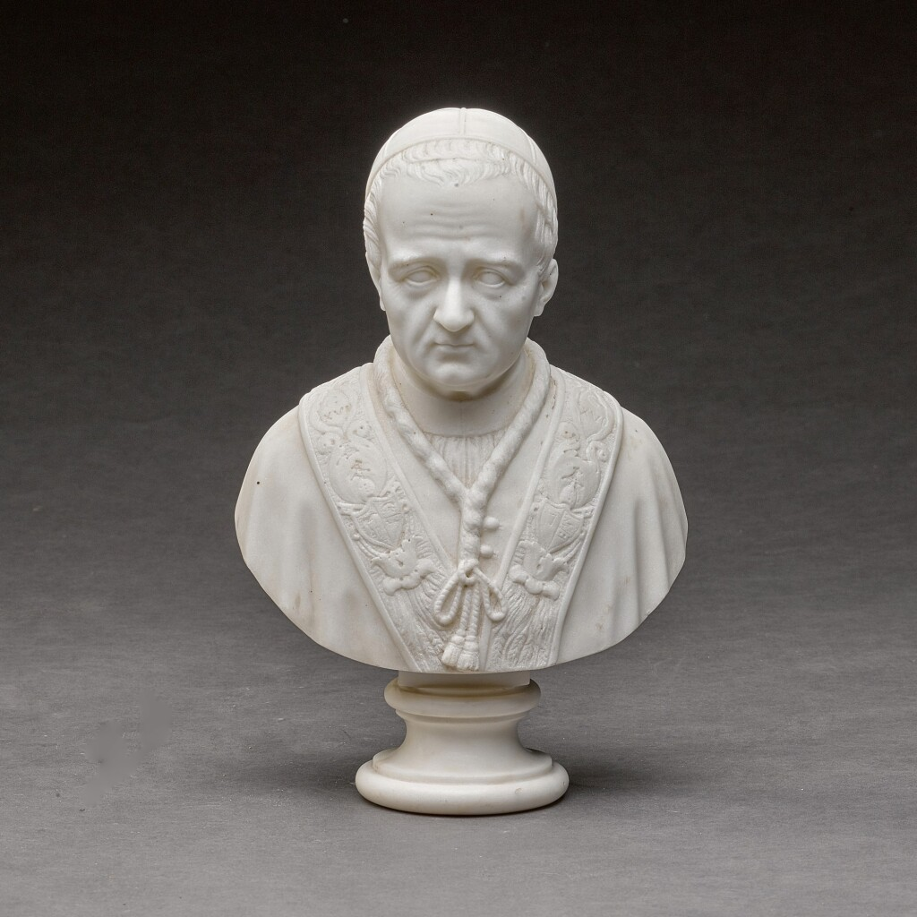 ATTRIBUTED TO THE WORKSHOP OF PIETRO TENERANI (1789-1869) | BUST OF POPE GREGORY XVI (1765-1846)