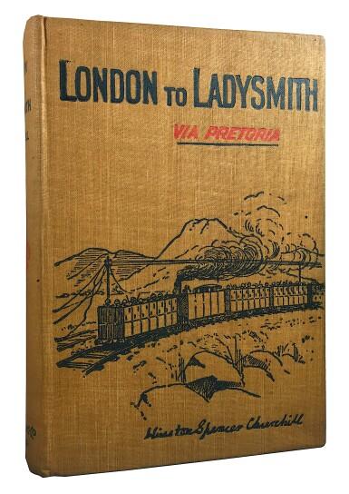 View 1. Thumbnail of Lot 13. Winston S. Churchill   London to Ladysmith (via Pretoria). Toronto: Copp, Clark Company, Limited 1900.