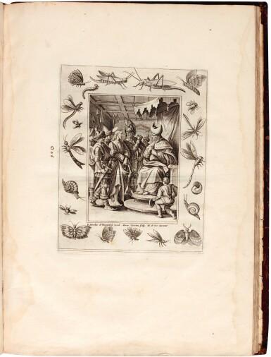 View 1. Thumbnail of Lot 114. Galle, Septem opera misericordiae spiritualia, Antwerp, 1577, later English calf.