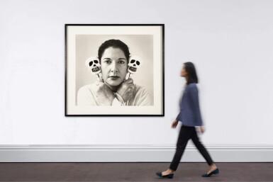 View 4. Thumbnail of Lot 143. Self-portrait with maracas       .