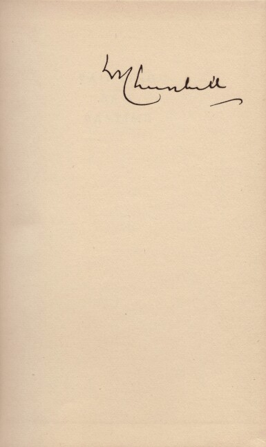 View 3. Thumbnail of Lot 73. Winston S. Churchill | Painting as a Pastime. London: Odhams Press, 1950.