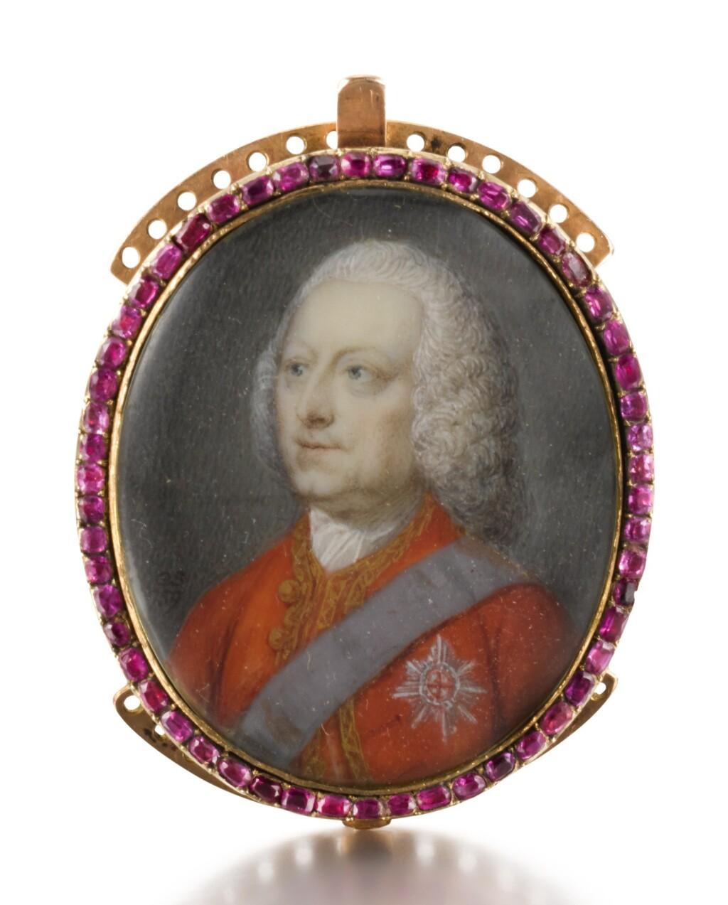 GERVASE SPENCER | PORTRAIT OF KING GEORGE II (1683-1760)