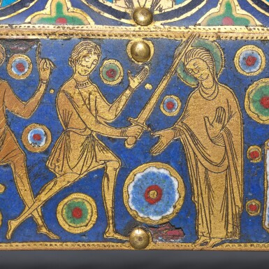 French, Limoges, circa 1210-1230 | Châsse with the Martyrdom of Saint Thomas Becket