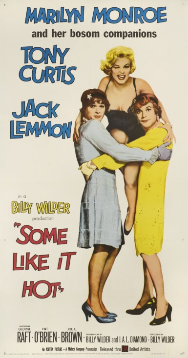 Some Like it Hot (1962) poster, US