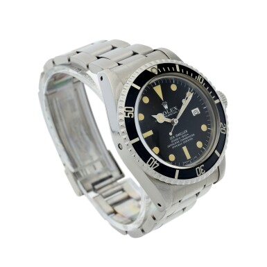 View 3. Thumbnail of Lot 72. ROLEX | REFERENCE 1665 SEA-DWELLER 'GREAT WHITE'   A STAINLESS STEEL AUTOMATIC WRISTWATCH WITH DATE AND BRACELET, CIRCA 1978.