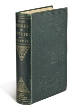 DARWIN, CHARLES | ON THE ORIGIN OF SPECIES....LONDON: JOHN MURRAY, 1859. FIRST EDITION, ERNST MAYR'S COPY