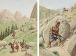 JOHN HAUSER | IN THE BIGFOOT CANYON AND IN AMBUSH: A PAIR OF WORKS