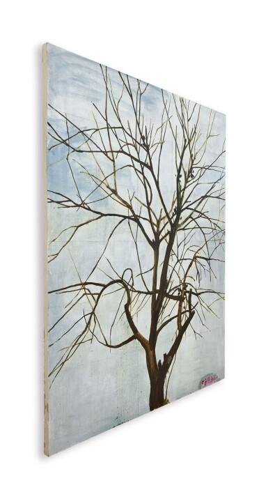 View 2. Thumbnail of Lot 30. Zhang Enli 張恩利 | Tree in Winter 1 冬天的樹 1.