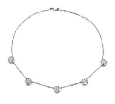 DIAMOND NECKLACE, VAN CLEEF & ARPELS | 鑽石項鏈, 梵克雅寶(Van Cleef & Arpels)