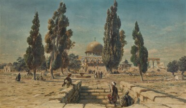 CARL HAAG | THE DOME OF THE ROCK, JERUSALEM