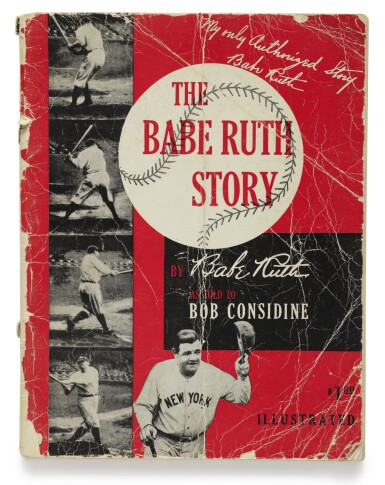 """View 2. Thumbnail of Lot 159. RUTH, GEORGE HERMAN (""""BABE"""") 