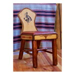 WYOMING FURNITURE COMPANY   KEYHOLE CHAIR