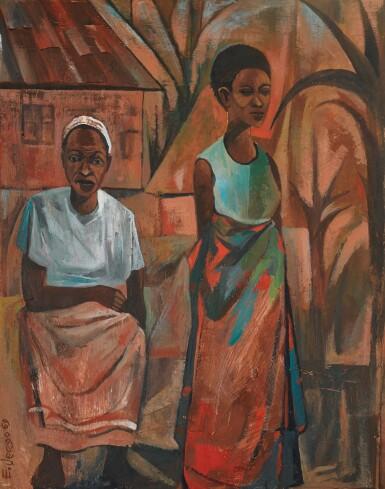 View 1. Thumbnail of Lot 69. ELIAS JENGO   WAKULIMA (THE FARMERS).