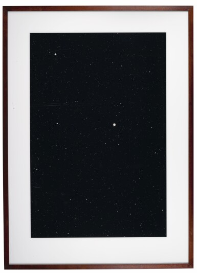 View 1. Thumbnail of Lot 86. THOMAS RUFF | '03H40M/-25°' (FROM THE SERIES STERNE), 1992.