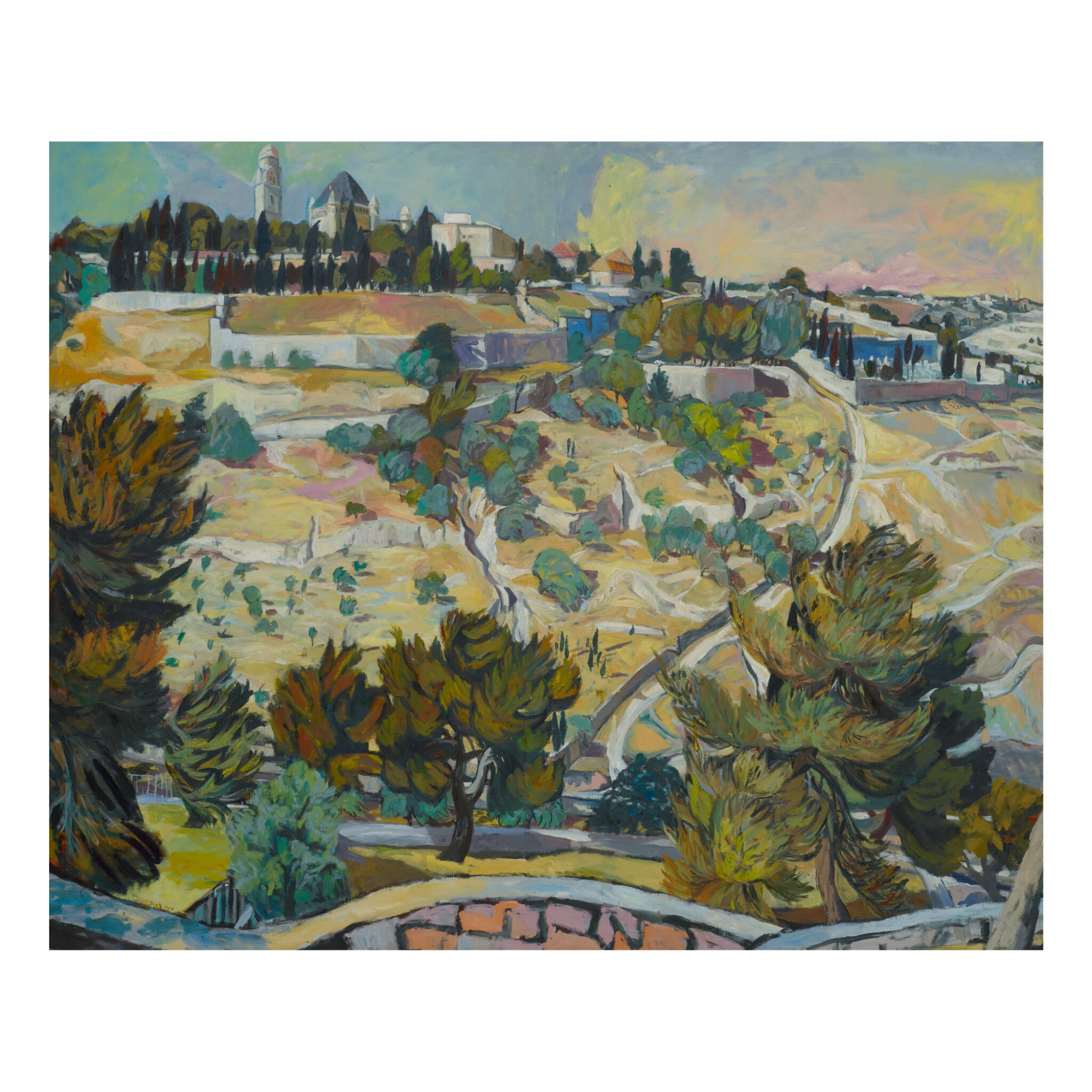 View full screen - View 1 of Lot 13. MICHAEL KOVNER | VIEW OF JERUSALEM.